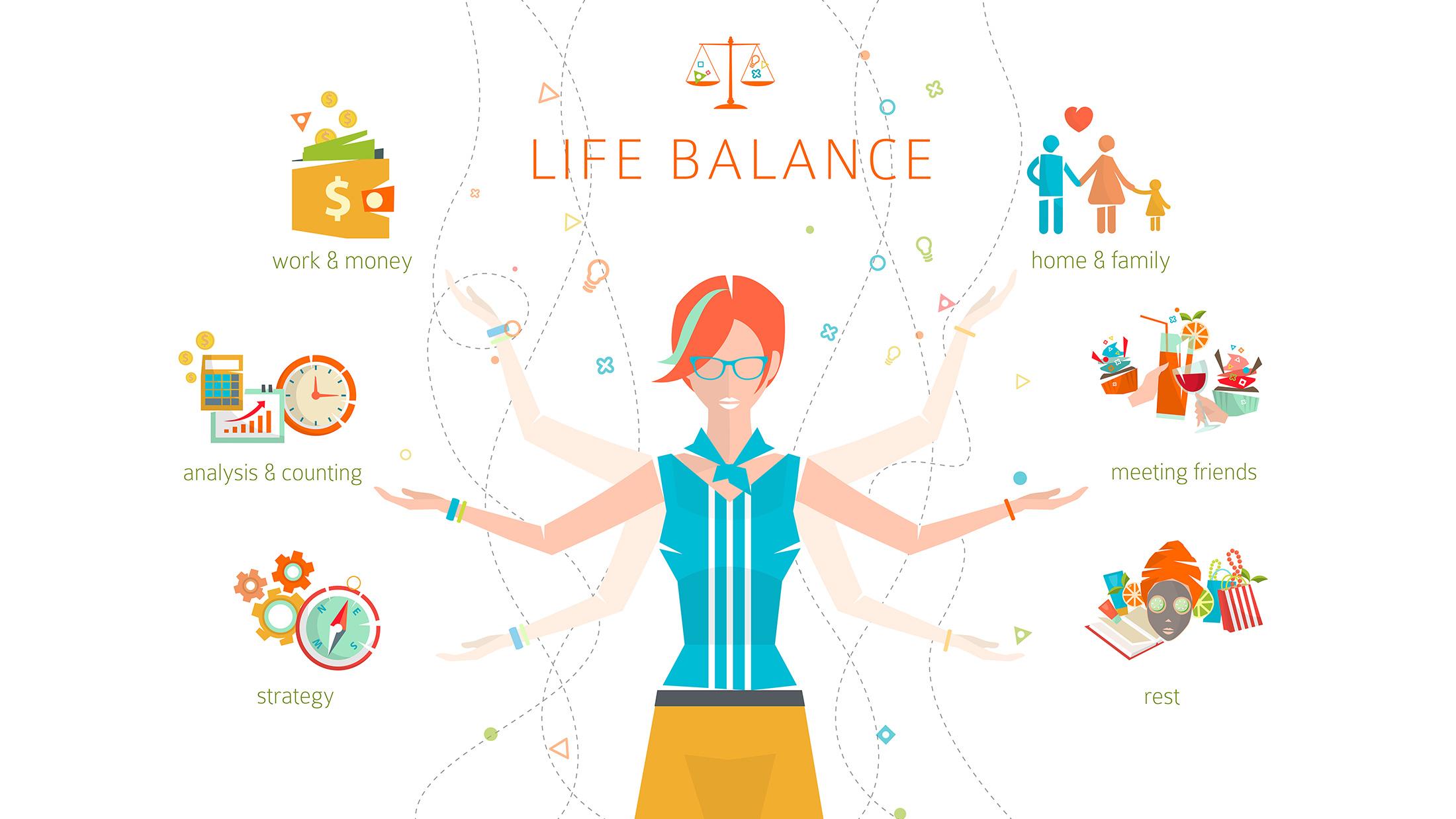 Work Life Balance - SnackGenius | Healthy Snacks for the Office