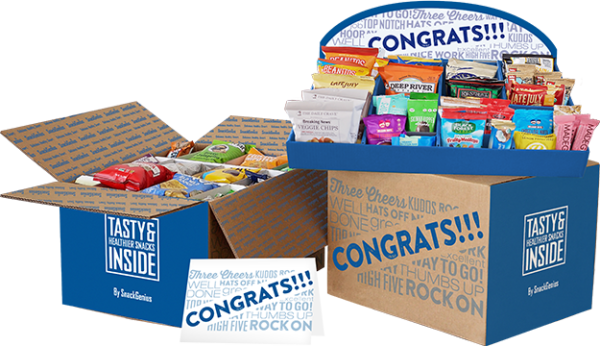 SnackGenius congrats gift box