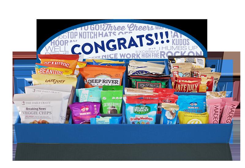 congrats display tray
